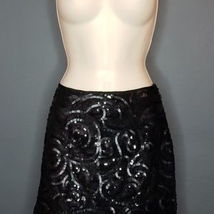 Silence + Noise Spiral Sequin Mini NWT
